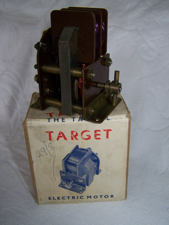 Taycol Target Twin coil electric motor with box.