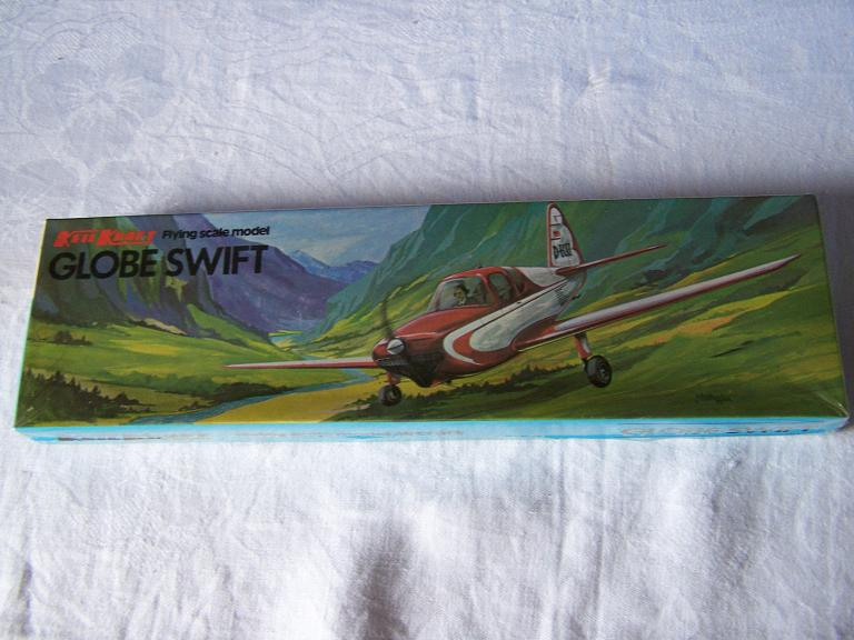 KK  GLOBE SWIFT flying scale model airoplane kit