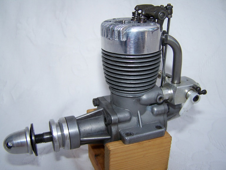 O S FS 60 open rocker 4 stroke engine.