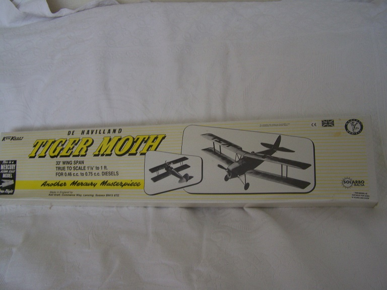 Keilkraft - Mercury Tiger Moth model kit.