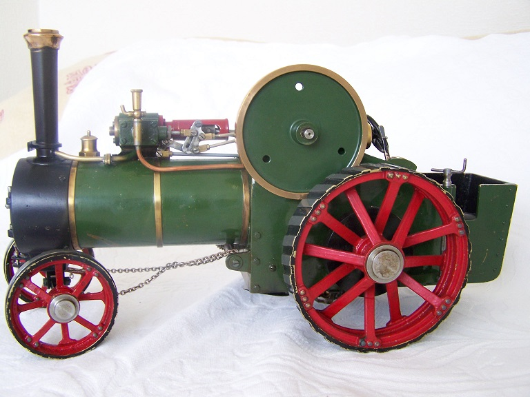 Bassette Lowke 3/4 inch scale traction engine live steam
