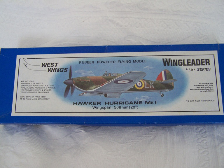 West Wings Hawker Hurricane Wing Leader series kit.