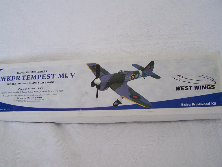 West wings Hawker Tempest kit