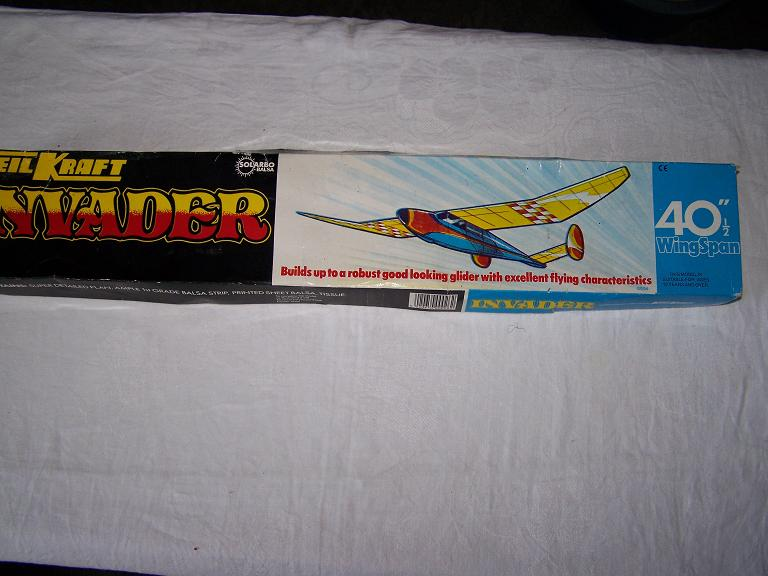 Keil Kraft INVADER model airoplane glider kit