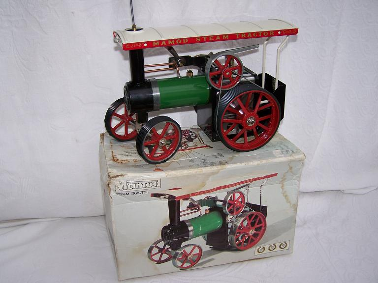 Mamod TE1A live steam model traction engine