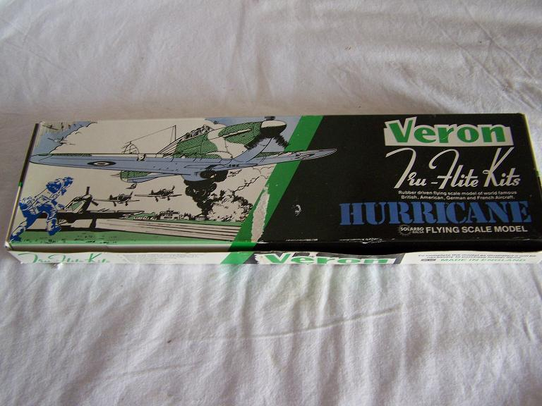 VERON HURRICANE flying scale model airoplane kit
