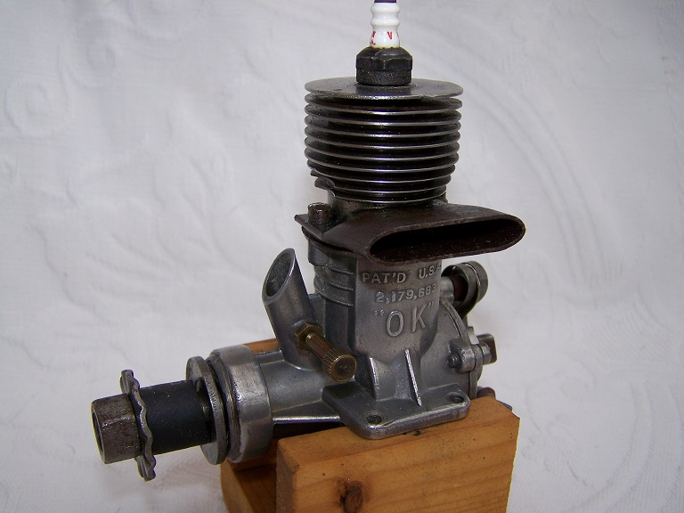 OK super 60 spark ignition model engine