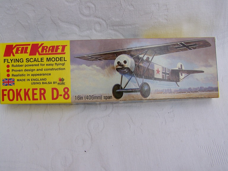 Keil Kraft Fokker D 8 model kit