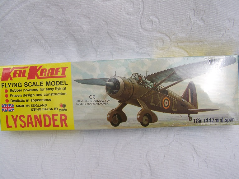 Keil Kraft Lysander model kit.