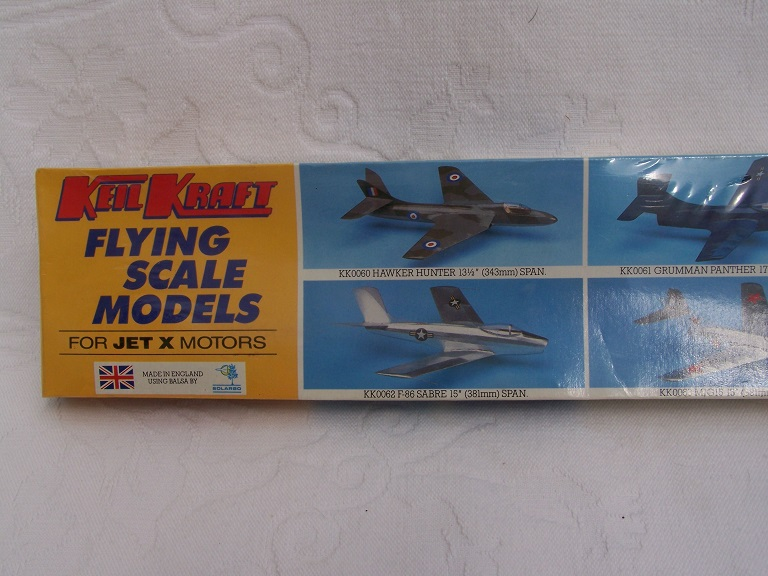 Keil Kraft Mig 15 model kit.