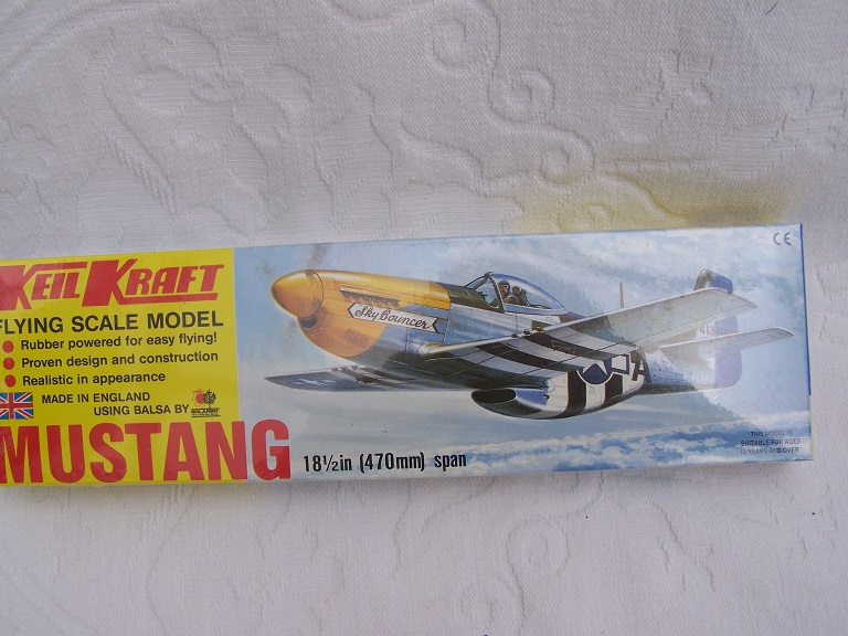 Keil Kraft Mustang model kit.