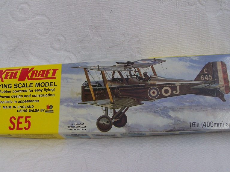 Keil Kraft SE5 model kit.