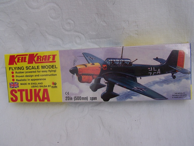 Keil Kraft Stuka model kit.