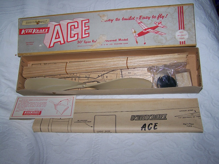 KeilKraft Ace model aero kit.