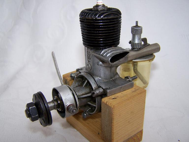 Ohlsson and Rice O&r 23 Spark ignition model aero engine.