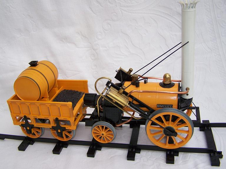 "Hornby Stevensons Rocket 3 1/2"" model steam engine"