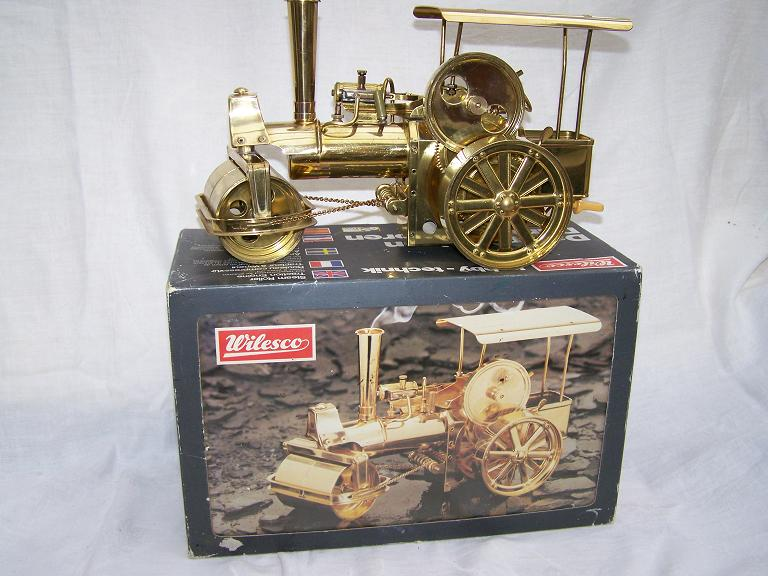 Wilesco D36 All brass model live steam roller