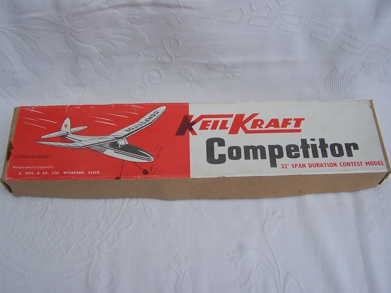 Keil Kraft Competitor 32 inch duration model
