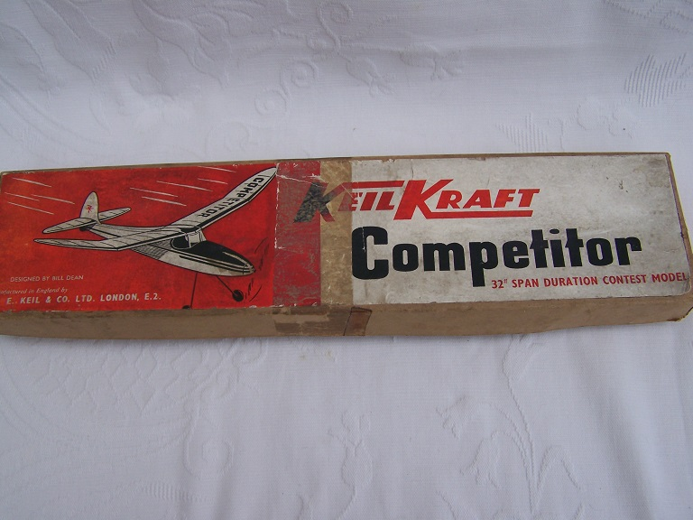 Keil Kraft competitor flying duration model airplane