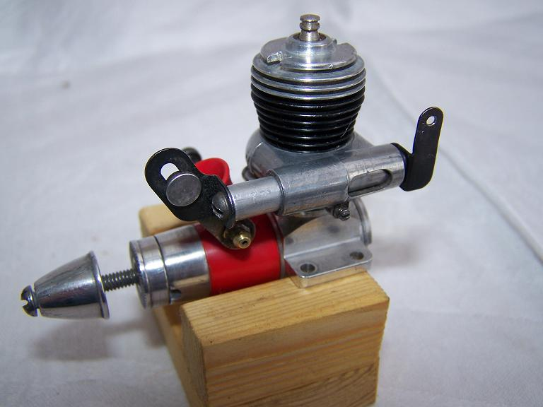 Cox medallion 049 R/C radio co engine