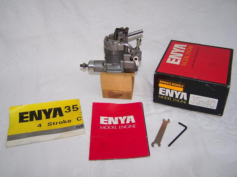 Enya 35-4c open rocker 4 stroke model engine