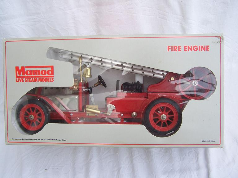 Mamod FE1 model steam fire engine