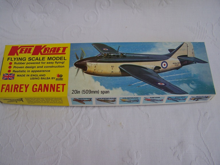 Keilkraft Gannet flying scale model.