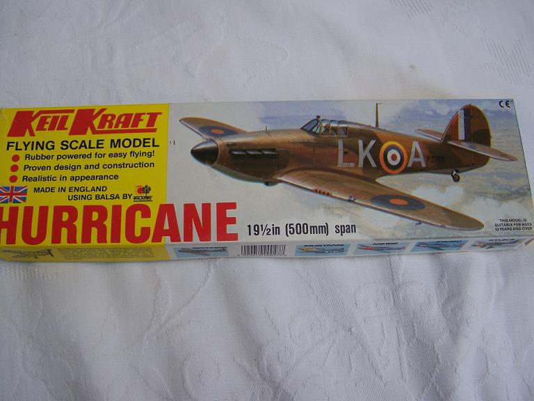 Keil Kraft Hurricane flying scale model
