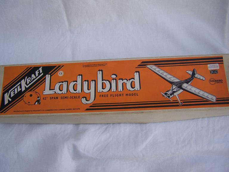Keil Kraft Ladybird model aircraft kit.