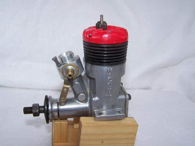McCoy 35 r/c model aircraft glow plug engine