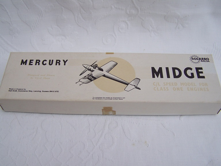 Mercury Midge control line speed model.