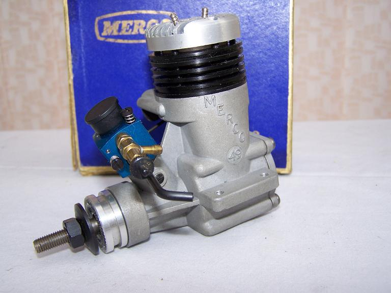 MERCO 49 MULTISPEED model aeroplane glow plug engine