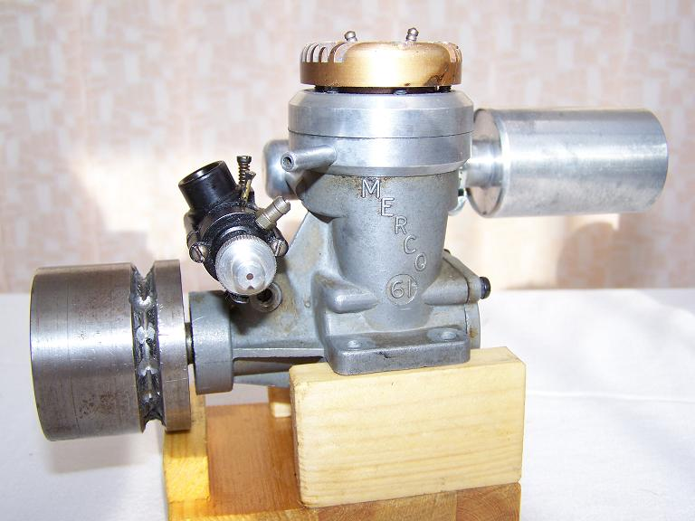MERCO 61 MODEL BOAT MARINE 10CC GLOW PLUG ENGINE