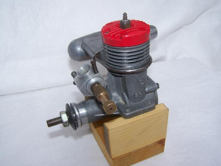Merco 29 model airplane glow plug engine