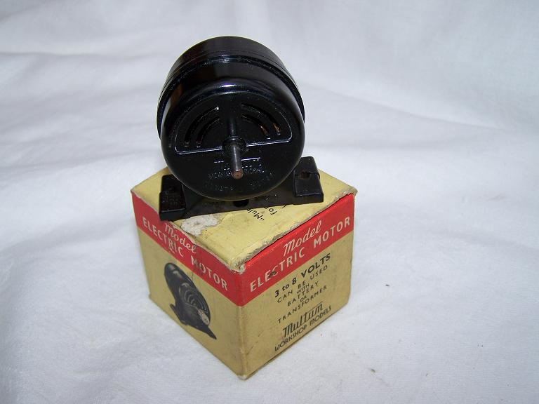 Multum electric motor with box.