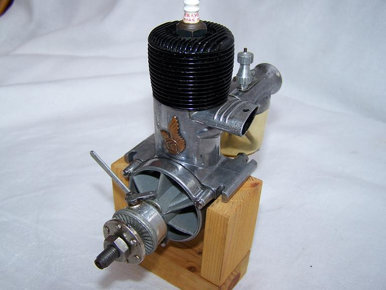 O&R 60 custom spark ignition model engine