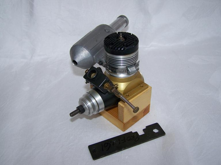 Profi 61 model aeroplane glow engine
