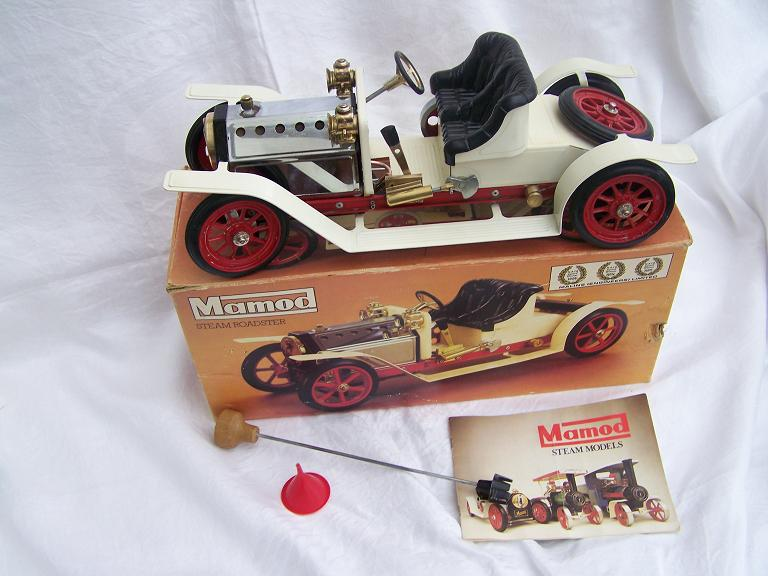 Mamod Roadster model steam engine  model car.
