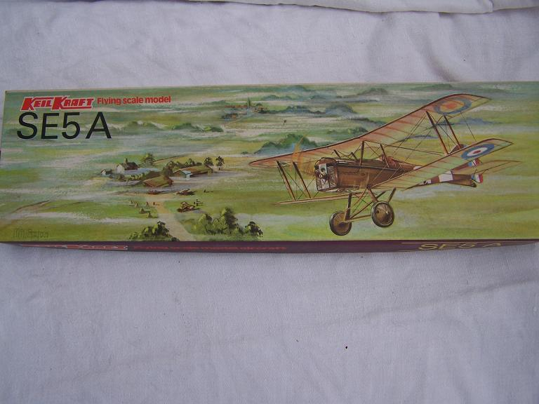 Keil Kraft SE5a flying scale model
