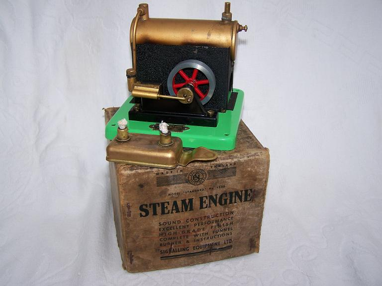 S E L Model 1540 Stationary Model Steam Plant with Box