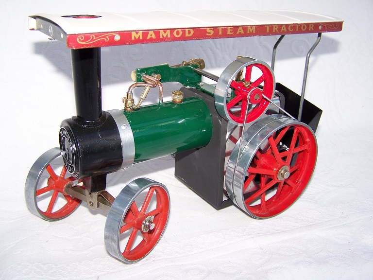 Mamod TE1 Model Steam Traction engine.
