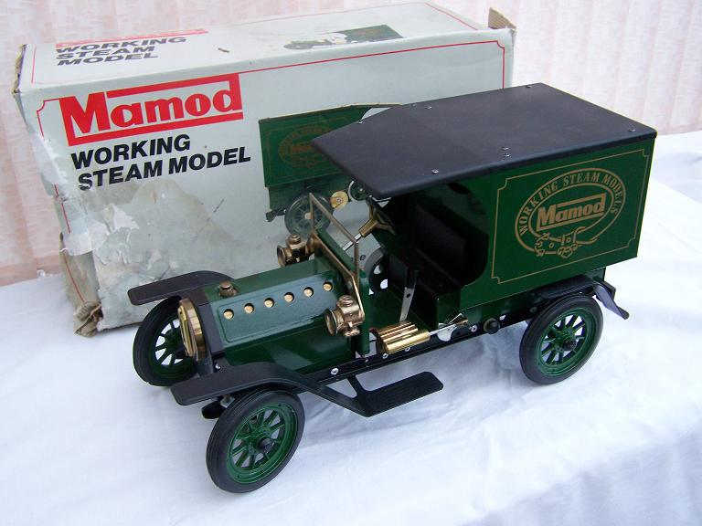 Mamod Live Steam Model Van DV1 Green