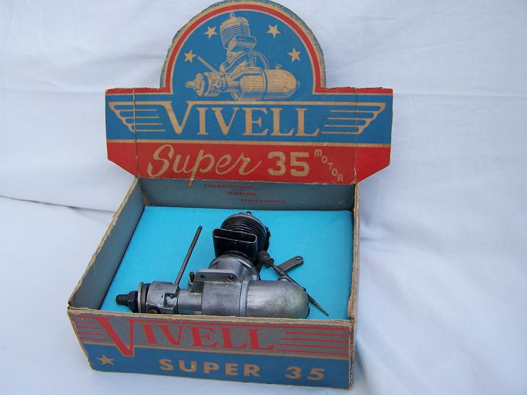 Vivell Super 35 spark ignition engine with box