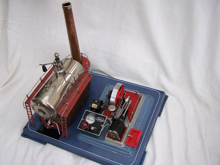 Wilesco D24 electric powered model steam engine
