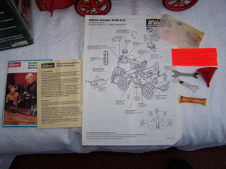 wilesco steam engine instructions